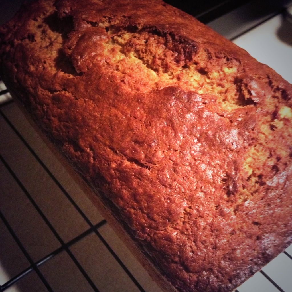 My version of Tyler Florence's Banana Bread.